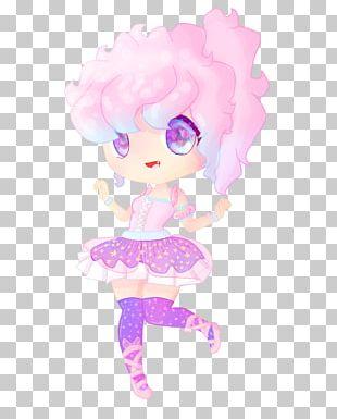 Cartoon Pink M Legendary Creature PNG