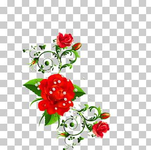 Rose Flower Bouquet Floral Design PNG