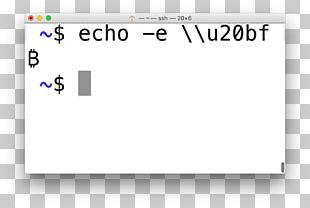 Unicode Symbols Bitcoin Unicode Consortium Character PNG