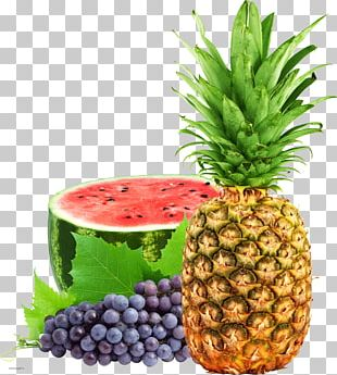 Vegetarian Cuisine Fruit Salad Juice Pineapple Watermelon PNG