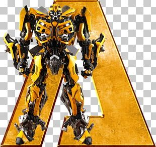 Bumblebee Optimus Prime Transformers Alphabet Action & Toy Figures PNG