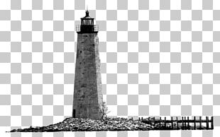 Lighthouse Black And White Monochrome Photography PNG