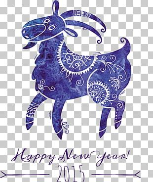 Goat Sheep Chinese New Year Chinese Zodiac PNG, Clipart, Bighorn