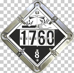 Dangerous Goods HAZMAT Class 9 Miscellaneous UN Number Placard Cargo PNG