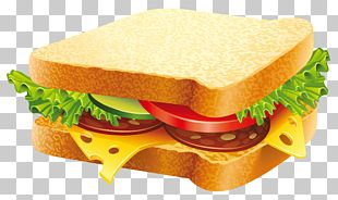 Hamburger Submarine Sandwich Vegetable Sandwich PNG