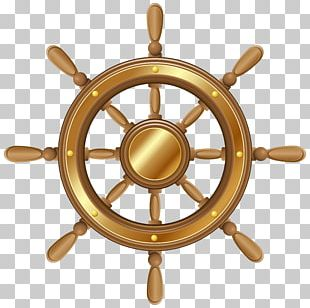 Ship's Wheel Steering Wheel Boat PNG