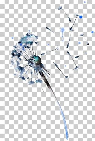 Watercolor Painting Dandelion Drawing Paper PNG