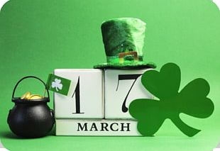 Saint Patrick's Day Public Holiday March 17 Party PNG