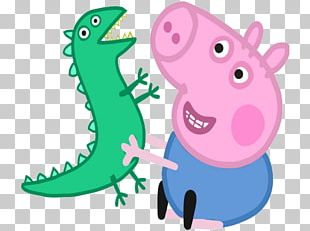 Mummy Pig Daddy Pig George's New Dinosaur PNG