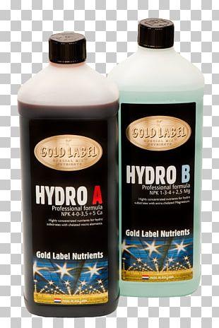 Nutrient Fertilisers Hydroponics Soil Norsk Hydro PNG