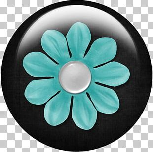 Petal Turquoise PNG
