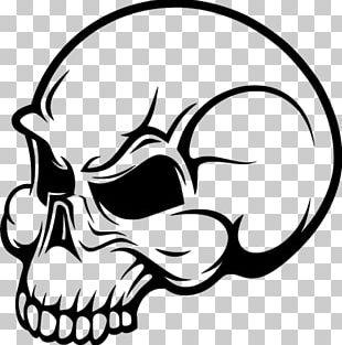 Drawing Human Skull Symbolism Flame PNG