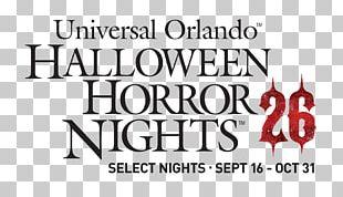 Halloween Horror Nights Universal's Islands Of Adventure SeaWorld Orlando Walt Disney World Rock The Universe PNG