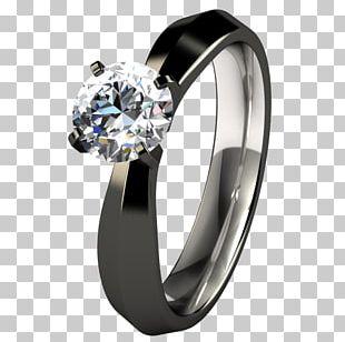 Engagement Ring Wedding Ring Titanium Ring Tungsten Carbide PNG