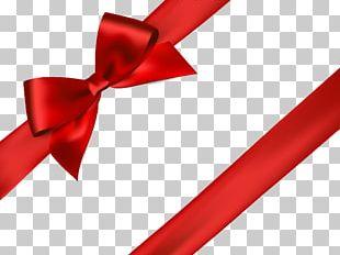 Ribbon Red Illustration PNG