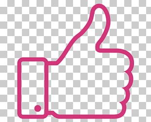 Thumb Signal Social Media Facebook Like Button PNG