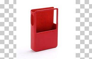Astell&Kern Iriver AK100 Red Plastic PNG