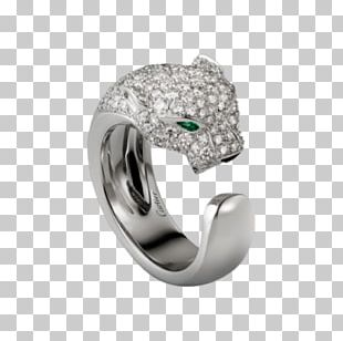 Ring Cartier Jewellery Colored Gold Diamond PNG