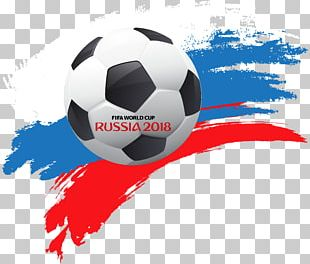 World Cup Russia 2018 With Soccer Ball PNG