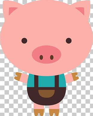 The Three Little Pigs Big Bad Wolf PNG