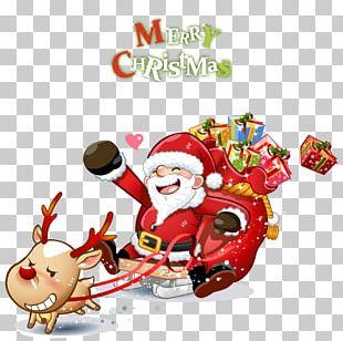 Santa Claus Cartoon PNG