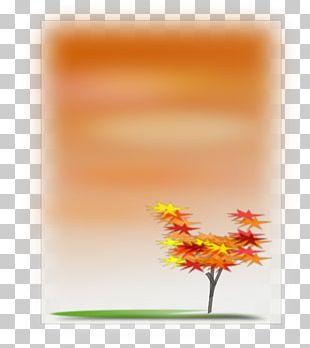 Autumn Leaf Color Desktop PNG