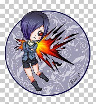 Ghoul Mangaka Chibi Drawing Fan Art PNG