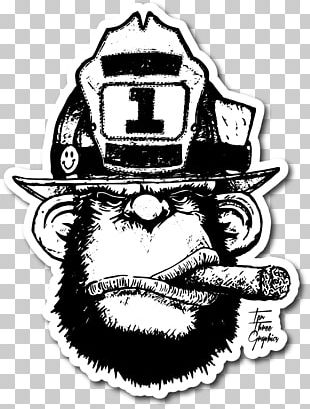Firefighter Decal Firefighting Fire Department PNG