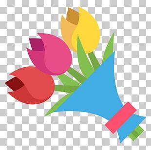 Flower Bouquet Floral Design Emoji Nosegay PNG