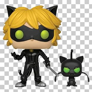 Adrien Agreste Marinette Dupain-Cheng Funko Pop! Animations Miraculous Tales Of Ladybug & Cat Noir Funko Figurine Miraculous Ladybug & Tikki Pop 10cm PNG