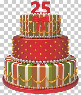 Birthday Cake Sugar Cake Torte Christmas Cake PNG