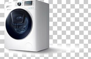 Washing Machines Clothes Dryer Laundry Samsung WW90K6414Q PNG