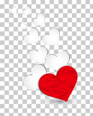 Heart Valentine's Day Red PNG