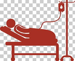 Hospital Bed Patient Icon PNG