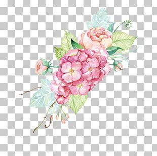 Watercolor: Flowers Rose Watercolor Painting Floral Design PNG