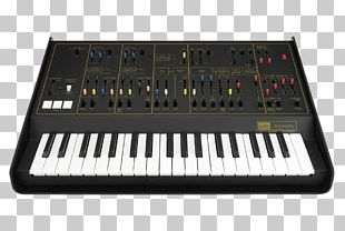 Digital Piano Polivoks ARP Odyssey Yamaha SY77 Oberheim OB-Xa PNG