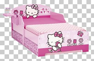 Hello Kitty Toddler Bed Cots Bedding PNG