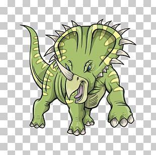Triceratops Tyrannosaurus Stegosaurus Dinosaur PNG
