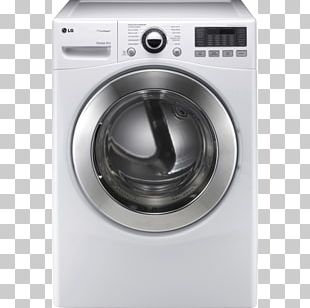 Clothes Dryer Combo Washer Dryer Washing Machines LG Tromm Home Appliance PNG
