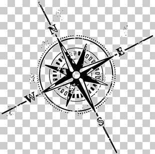Compass Rose Tattoo Symbol PNG