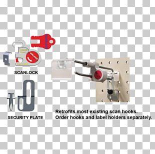 Hook Tool Label Swing Tag Scanner PNG