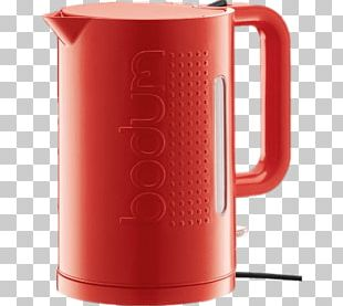 Red Bodum Kettle PNG