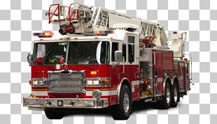 United States Fire Engine Fire Department Firefighter Truck PNG