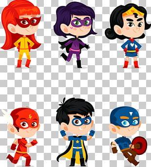 Clark Kent Superhero Cartoon PNG