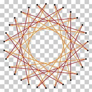 Angle Circle Pentadecagon Regular Polygon PNG