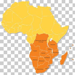 Democratic Republic Of The Congo Southern African Development Community Map African Economic Community PNG