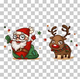 Santa Claus Christmas Card Drawing PNG