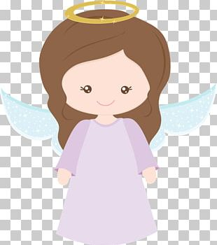 Baptism Angel Totem Painel Table PNG