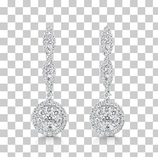 Earring Jewellery Wedding Dress Diamond Cut PNG