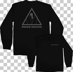 Long-sleeved T-shirt Hoodie Imagine Dragons Evolve PNG